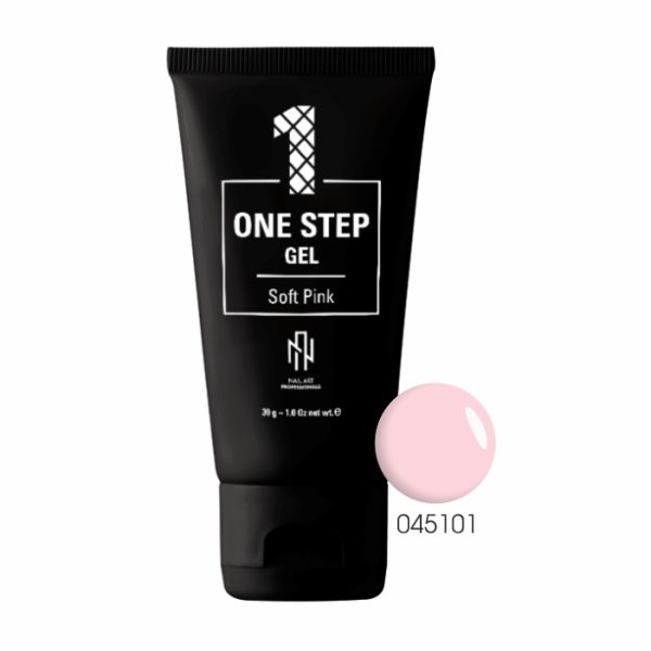 ONE STEP GEL – SOFT PINK 1
