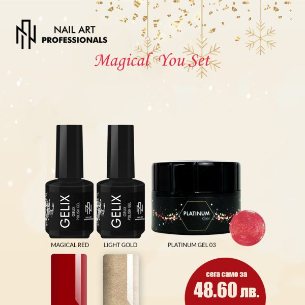nail art prof magical you set